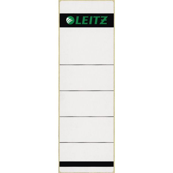 16420185 - Short, self-adhesive, wide spine label for Leitz A4 80mm Standard Lever Arch Files