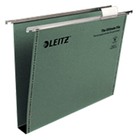 1743-00-55 - Leitz Ultimate Clenched Bar Suspension File, Box of 50 - 300 Sheet Capacity