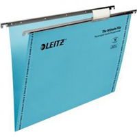 1744-00-35 - Leitz Blue Ultimate Clenched Bar Suspension File, Box of 50 - V Base, 150 Sheet Capacity