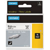 S0718260 - Dymo RHINO Black Print on White Heat Shrink Tube 6mm x 1.5m - (legacy code-18051)