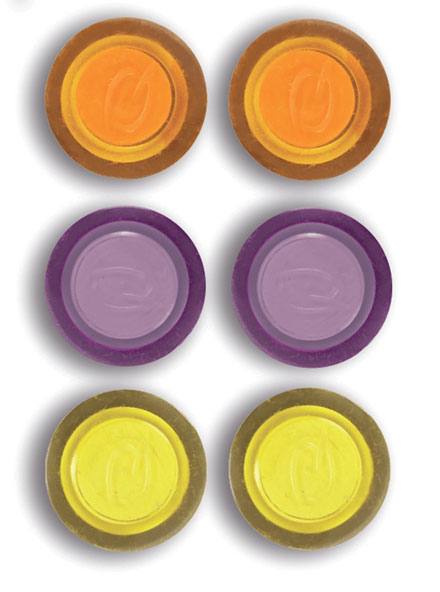 1903790 - Nobo Rexel Magnets, Assorted Colours - Pack of 6 Magnets