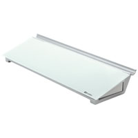 1905174 - Nobo Diamond Glass Desktop Pad - Re-useable alternative to paper, Personal Desk Pad
