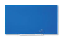 1905188 - Nobo Diamond Glass Board, Magnetic - Blue 993x559mm - 45""