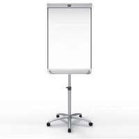 1905245 - Nobo Prestige Enamel Mobile Magnetic Easel with Connex - White