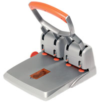 23223100 - Rapid Supreme Heavy Duty 4 Hole Punch - 150 sheet punch