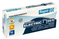 24867800 - Rapid 66/6mm Strong Staples, Box of 5,000 Staples