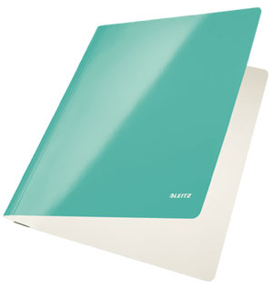 3001-00-51 - Leitz WOW Ice Blue flat folder - Box of 10