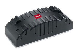 34533421 - Nobo Refillable Magnetic Whiteboard Eraser for Magnetic & Non-Magnetic Wipe Boards