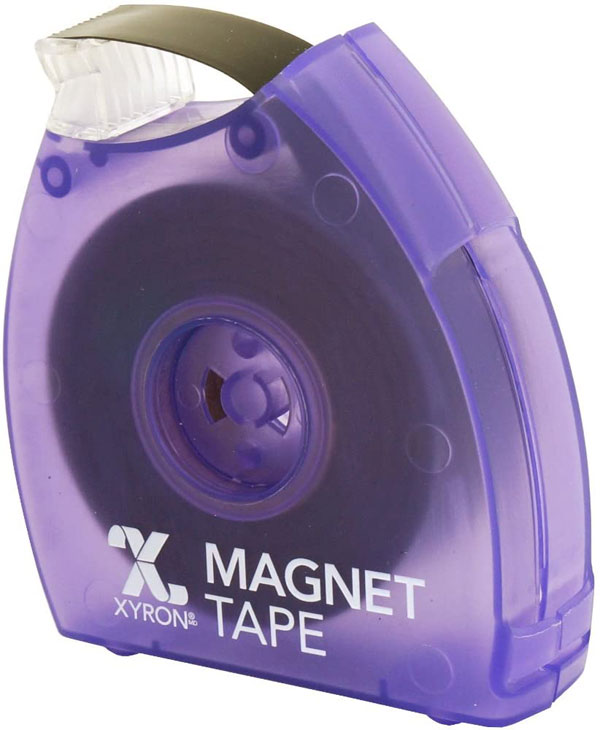 384846 - Xyron Magnet Tape - Magnetic tape with dispenser, For adding a magnetic backing to any lightweight o