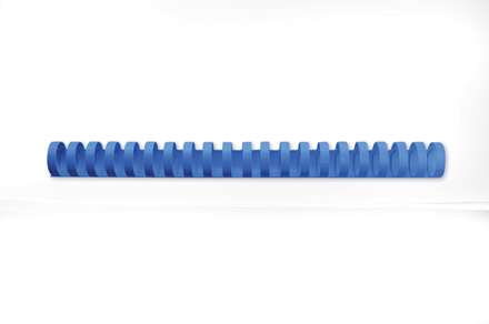 4028235 - 10mm GBC CombBind Binding Combs Blue, sheet capacity 65 - Pack of 100