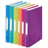 4257-00-99 - Leitz WOW Assorted 2 Ring Binder 25mm  - Pack 12