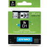 S0720770 - Dymo 6mm Black on Clear Tape x 7m - (legacy code-43610)