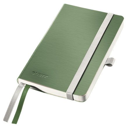 44920053 - Leitz Style Notebook A6 ruled with softcover - Celadon Green, Pack of 5 Note Books