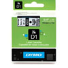 S0720820 - Dymo 19mm Black on Clear Tape x 7m - (legacy code-45800)