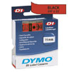 S0720870 - Dymo 19mm Black on Red Tape x 7m - (legacy code-45807)