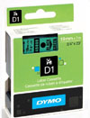 S0720890 - Dymo 19mm Black on Green Tape x 7m - (legacy code-45809)