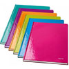 4625-10-44 - Leitz WOW metallic Orange 80 page A4 ruled notepad - Pack of 6