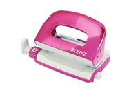 50602023 - Leitz NeXXt Series WOW Mini Office Hole Punch - Pink Hole Punch
