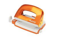 50602044 - Leitz NeXXt Series WOW Mini Office Hole Punch - Orange Hole Punch