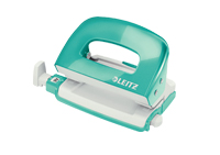 50602051 - Leitz NeXXt Series WOW Mini Office Hole Punch - Ice Blue Hole Punch - Discontinued by ACCO/Leitz