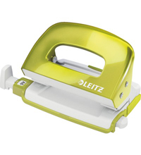 50602064 - Leitz NeXXt Series WOW Mini Office Hole Punch - Lime Green Hole Punch