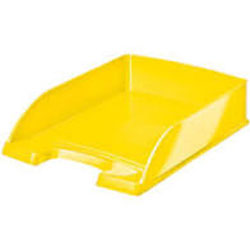 5226-30-16 - Leitz WOW Yellow Letter Tray - Pack of 5