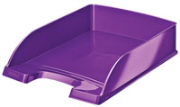 5226-30-62 - Leitz WOW Purple Letter Tray - Pack of 5