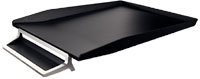 5256-00-94 - Leitz Style Letter Tray - Satin Black - Discontinued By Leitz/ACCO