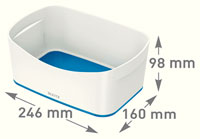 52571036 - MyBox® - Storage Tray - White/Blue