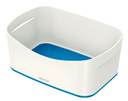 52571036 - MyBox - Storage Tray - White & Blue, 246 x 98 x 160mm