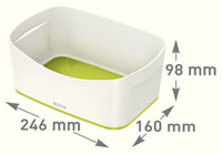 52571064 - MyBox® - Storage Tray - White/Green