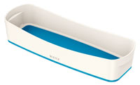 52581036 - MyBox - Long Organiser Tray - White & Blue