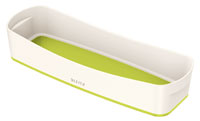 52581064 - MyBox - Long Organiser Tray - White & Green