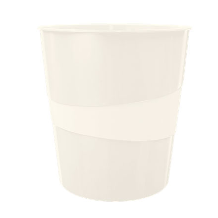 52781001 - Leitz WOW White Waste Bin - Box of 6