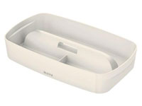53220001 - MyBox - Organiser Tray with Handle Large - White
