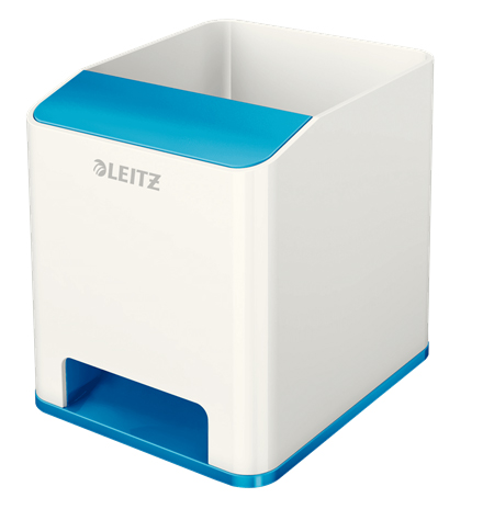 53631036 - Leitz WOW Sound Pen Holder - Vivid Blue