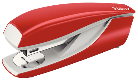 55020025 - Leitz NeXXt Series WOW Metal Office Stapler - Red