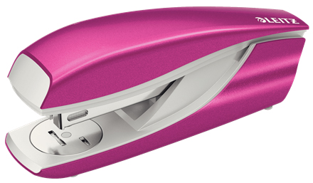 55021023 - Leitz NeXXt Series WOW Metal Office Stapler - Pink Stapler