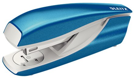55021036 - Leitz NeXXt Series WOW Metal Office Stapler - Blue Stapler
