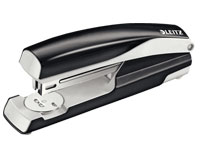 55040395 - Leitz NeXXt Strong Metal Stapler - Black FullStrip Stapler