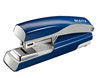 55050235 - Leitz NeXXt Metal Flat Clinch Office Stapler - Blue Stapler