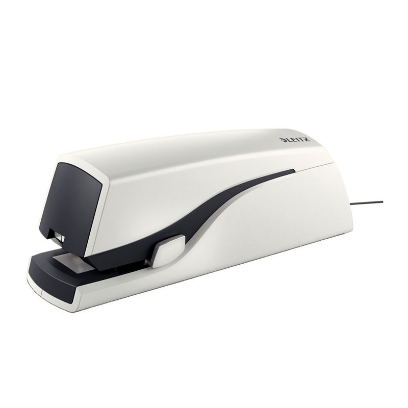 55331001 - Leitz New NeXXt Electric Flat Clinch Stapler - White, 20 Sheet Stapler