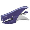 55640069 - Leitz Style Stapling Pliers, Back Loader - 15 Sheet Designer Stapler - Titan Blue - Discontinued By