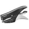 55640094 - Leitz Style Stapling Pliers, Back Loader - 15 Sheet Designer Stapler - Satin Black - Discontinued By