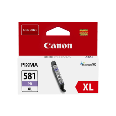 2053C001 - Genuine Canon CLI-581PB XL Photo Blue Ink Tank - High Yield Cartridge - 8.3ml