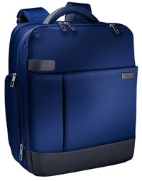 "6017-00-69 - Leitz Complete Smart Traveller 15.6"" Backpack, Airport Trolley Fixing & Shoulder Belt - Titan Blue"