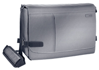 "60190084 - Leitz Complete 15.6"" Smart Traveller Messenger Case, ideal for mobile devices & A4 documents, Silver"