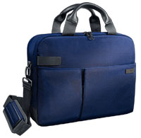 "6039-00-69 - Leitz Complete Smart Traveller Case for 13.3"" Laptop Computers - Titan Blue"
