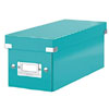 6041-00-51x6 - Esselte Leitz Ice Blue Click & Store CD Storage Boxes - Pack of 6
