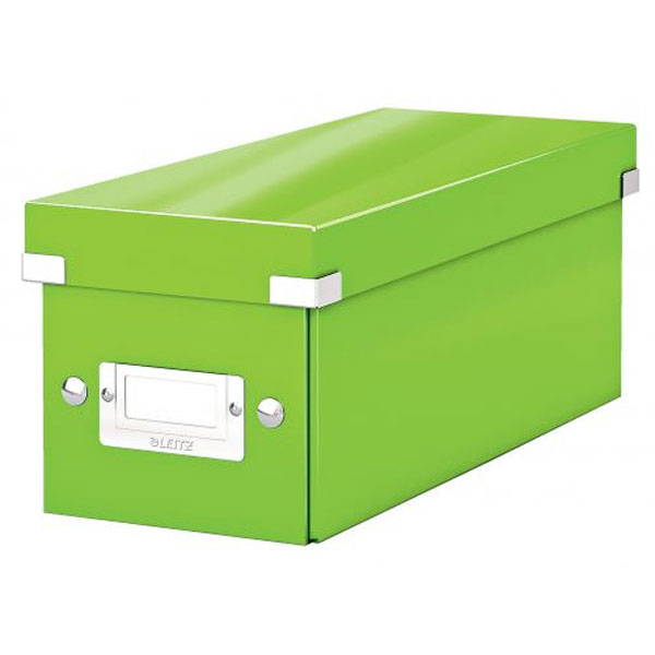 6041-00-54 - ACCO Leitz Green Click & Store CD Storage Box